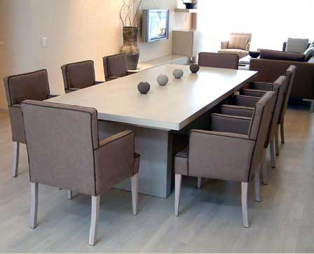 Dining Table Conran Stepped - with Denmark armchairs